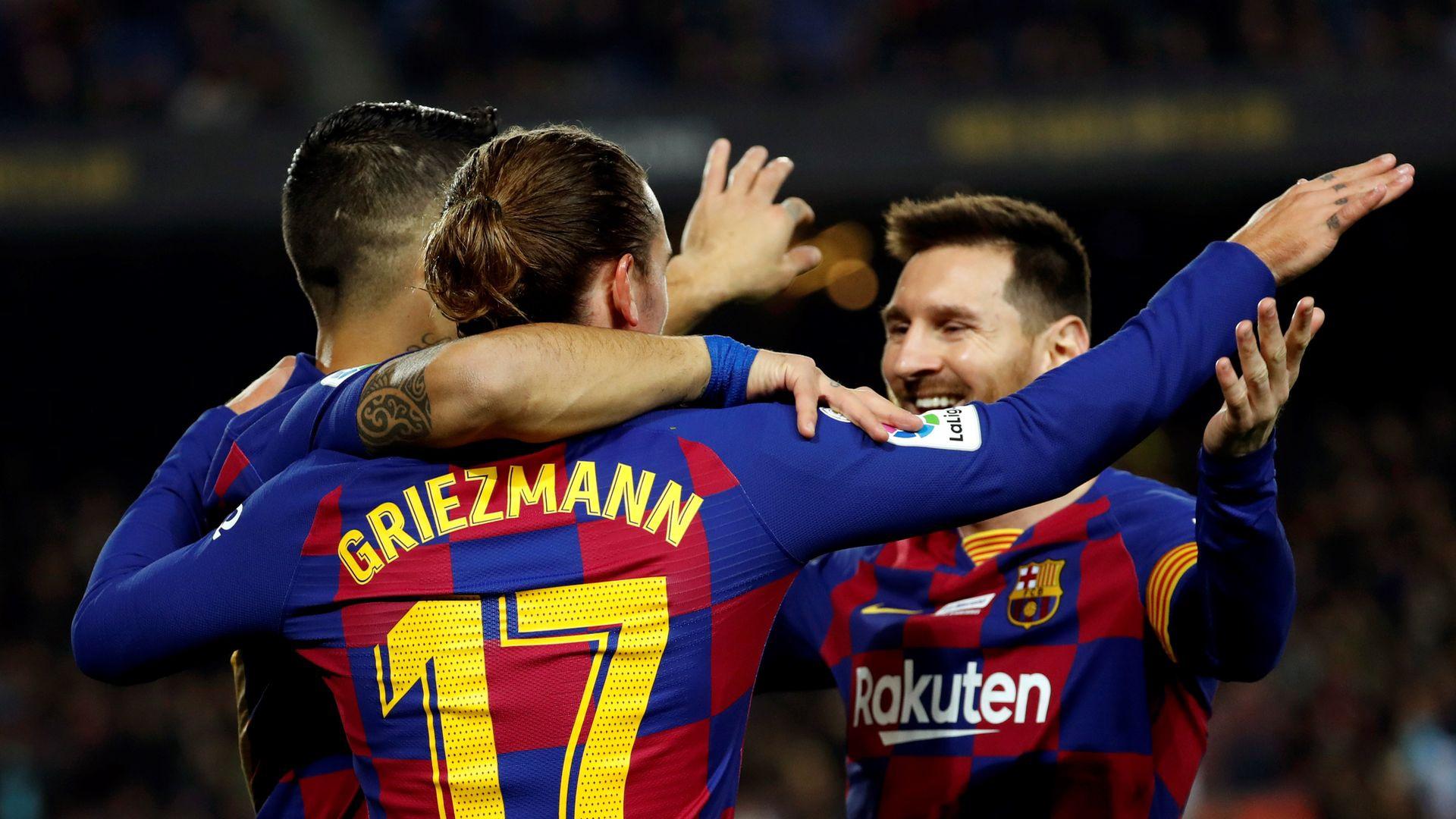 Griezmann và cú đánh gót thức tỉnh sự đáng sợ trong Barca - Bóng Đá