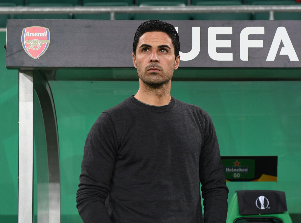 Arsenal thua trận, Arteta