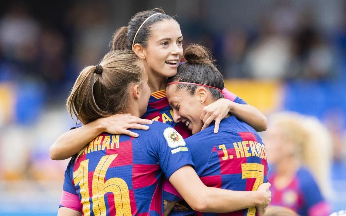 Đội nữ Barca khiến Messi và các đồng đội phải ngước nhìn - Bóng Đá