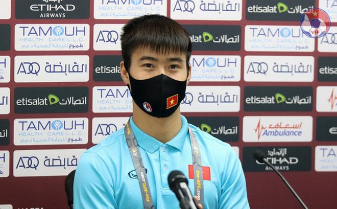 Sắp gặp UAE, Duy Mạnh tự tin về 1 điều ở tuyển Việt Nam - Bóng Đá