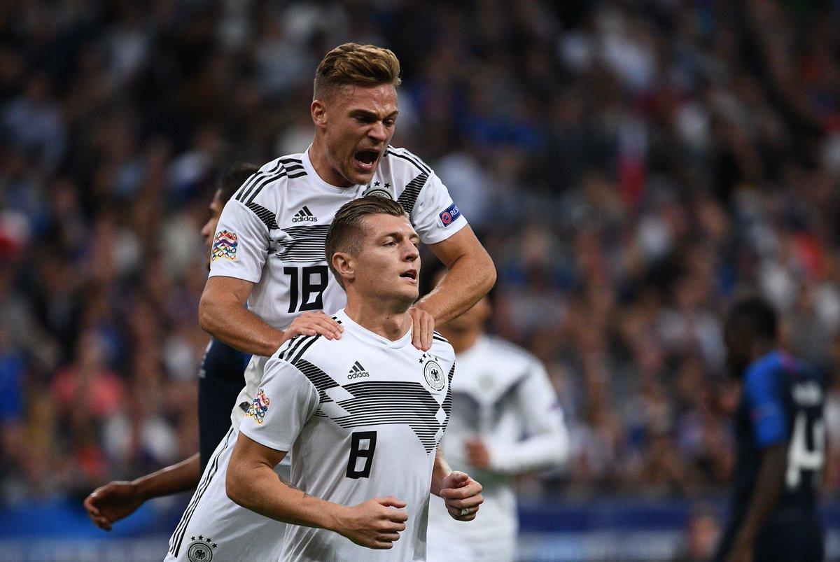 Toni Kroos lên tiếng khi Joshua Kimmich chơi trái sở trường ở tuyển Đức - Bóng Đá