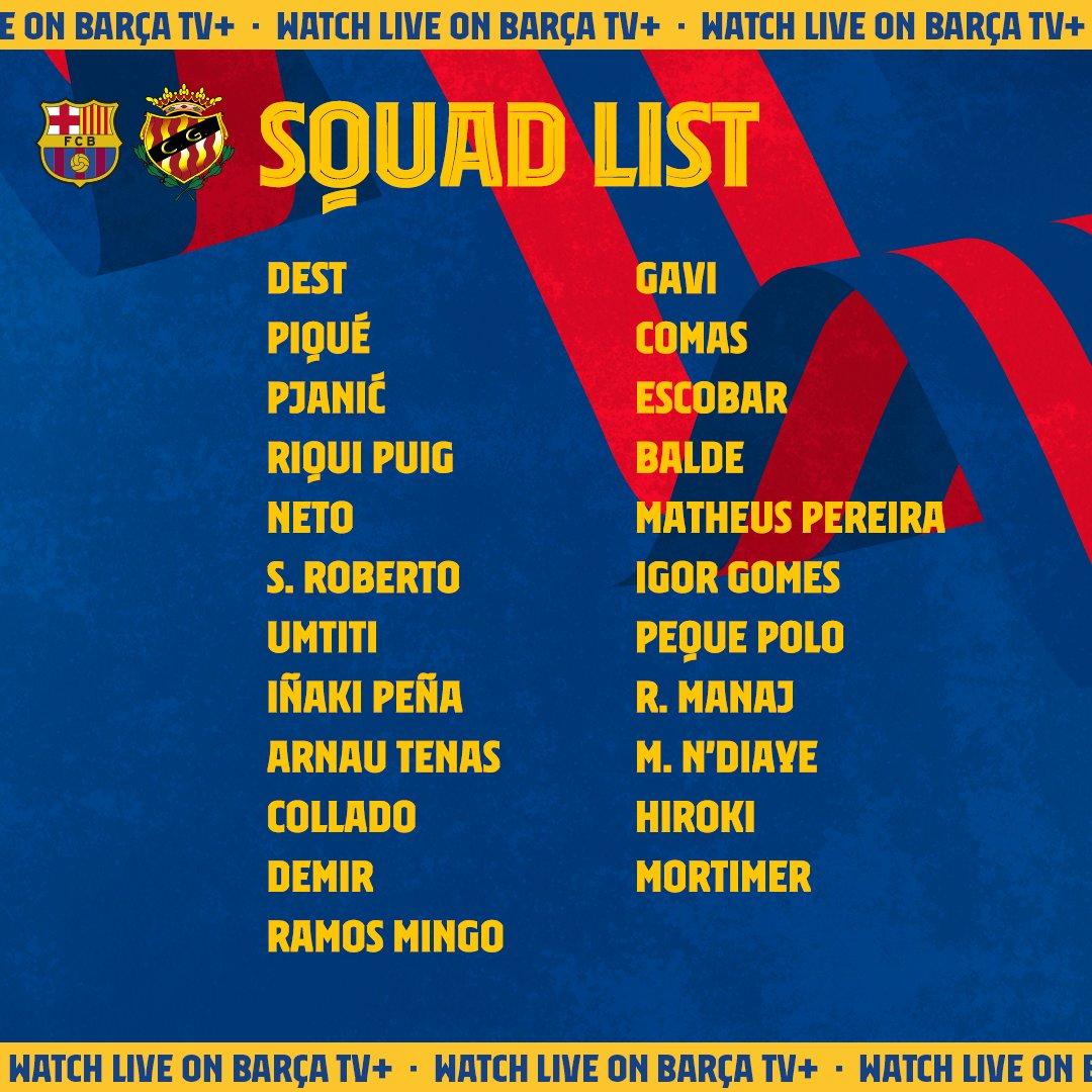 Barca công bố đội hình cho trận đấu đầu tiên: Cơ hội cho sao thất sủng - Bóng Đá