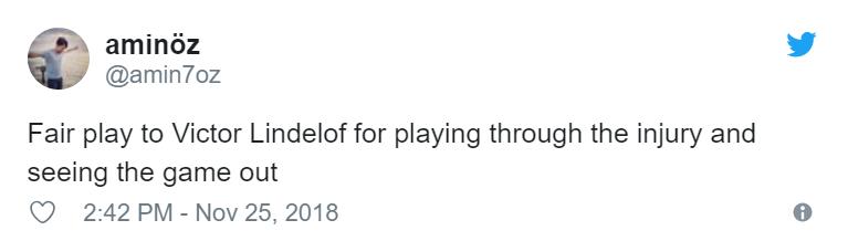 What Victor Lindelof did while injured has got Man Utd fans talking - Bóng Đá