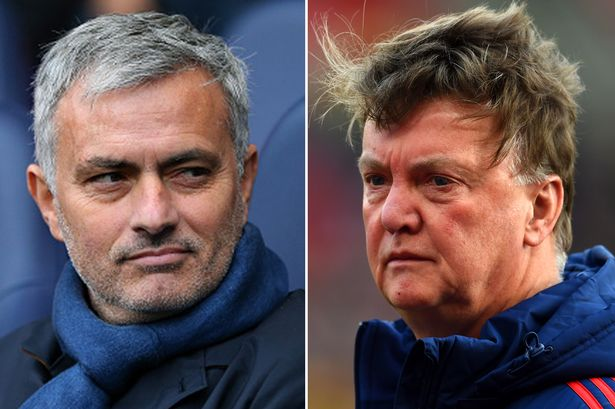 Stalemate with Crystal Palace proves Jose Mourinho is mirroring Louis van Gaal at Manchester United - Bóng Đá