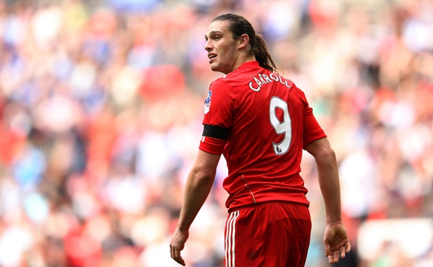 Andy Carroll reveals he wanted to FAIL Liverpool medical during chaotic deadline day move to Anfield - Bóng Đá