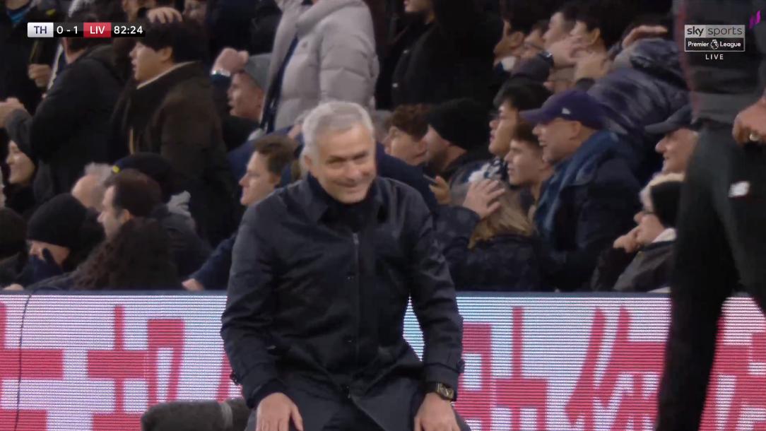 Mourinho không tin vào mắt sau pha bỏ lỡ của Son Heung-min - Bóng Đá