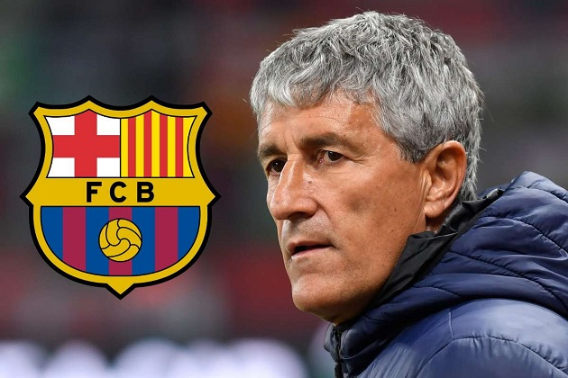 Quique Setien claims he would welcome Xavi at Barca: 'When he comes, we will open the door for him' - Bóng Đá
