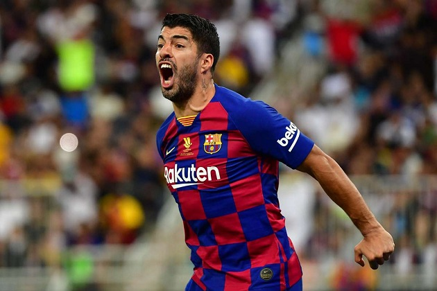 Luis Suarez on possibly becoming the third-best goalscorer at Barca: 'It's always welcome to leave a mark on such a big club' - Bóng Đá