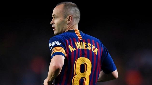 4 cái tên có thể sẽ kế thừa chiếc áo số 8 của Iniesta tại Barca mùa tới