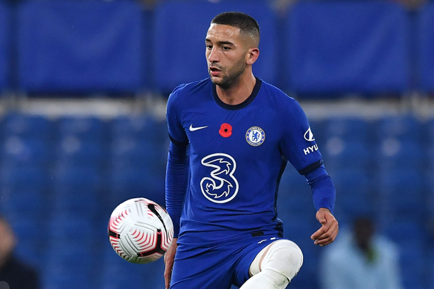 Chelsea ace Hakim Ziyech developing exciting partnership with two teammates already - Bóng Đá
