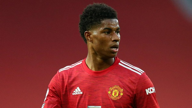 Unstoppable: 5 stats that show Marcus Rashford's Champions League dominance in 2020/21 - Bóng Đá