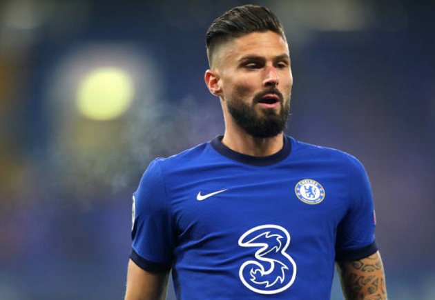 Chelsea ace Olivier Giroud urged to snub January transfer exit because of Timo Werner - Bóng Đá