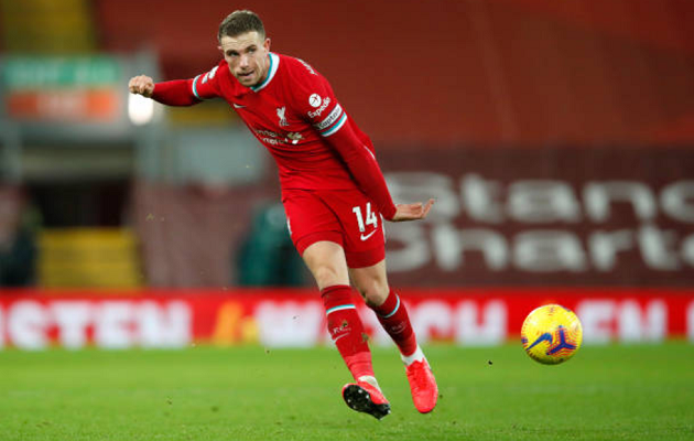Hendo's impressive passing stats from West Brom game also highlight Liverpool's main failure - Bóng Đá