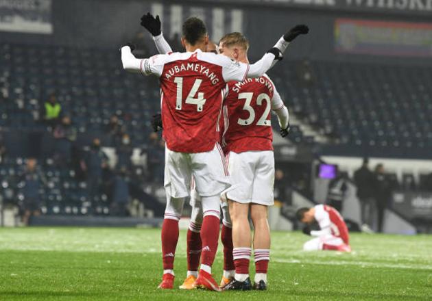 Thắng West Bromwich, Arsenal tạo ra điều hết sức tuyệt vời - Bóng Đá