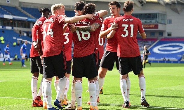 Premier League form table over last 10 matches: Man United at the top with 8 wins - Bóng Đá