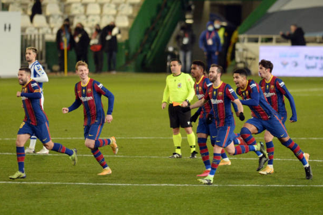 5 Barca players who played vs Sociedad weren't born the last time when Catalans were involved in penalty shootout - Bóng Đá