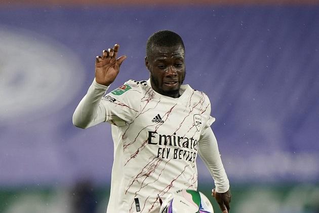 Nicolas Pepe chưa tạo cơ hội cho đồng đội - Bóng Đá