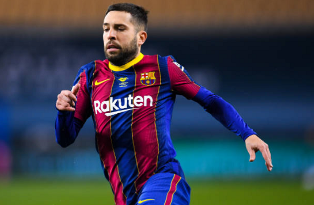 Jordi Alba: 'It's a painful defeat that we didn't deserve' - Bóng Đá