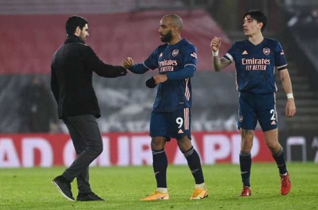 'Phục hận' Southampton, Arteta chỉ ra sự tiến bộ lớn của Arsenal - Bóng Đá