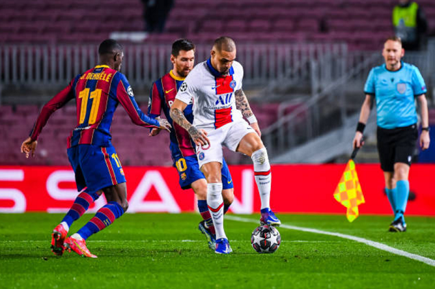 Trước PSG, Messi đã làm mọi điều có thể - Bóng Đá