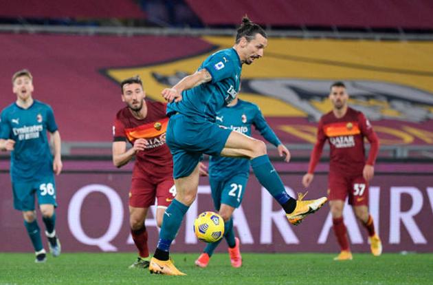 Ibra và 3 cái tên gây thất vọng nhất trong đại chiến Roma - AC Milan - Bóng Đá