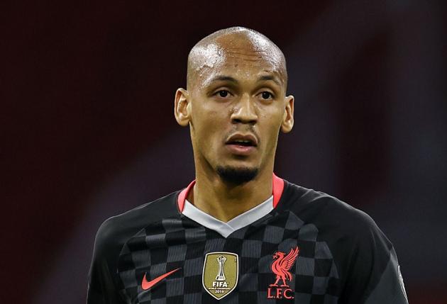 Klopp explains why he hasn't moved Fabinho back to his midfield role yet - Bóng Đá
