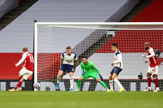 TRỰC TIẾP Arsenal 1-1 Tottenham (Hết H1): Hai đội bước vào giờ nghỉ - Bóng Đá