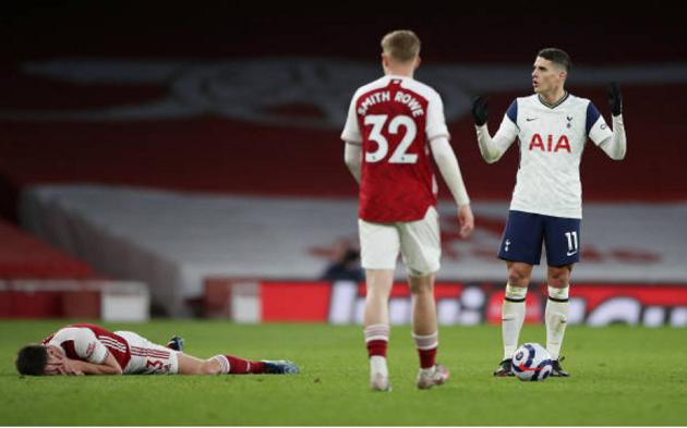 TRỰC TIẾP Arsenal 2-1 Tottenham (H2): Harry Kane ghi bàn trong thế việt vị - Bóng Đá
