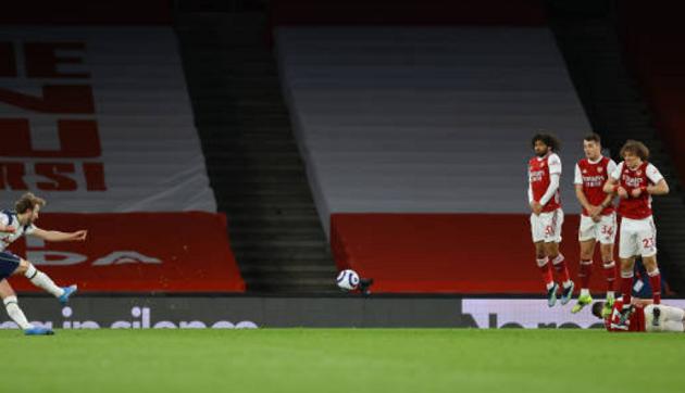 TRỰC TIẾP Arsenal 2-1 Tottenham (H2): Harry Kane đá phạt trúng cột dọc - Bóng Đá