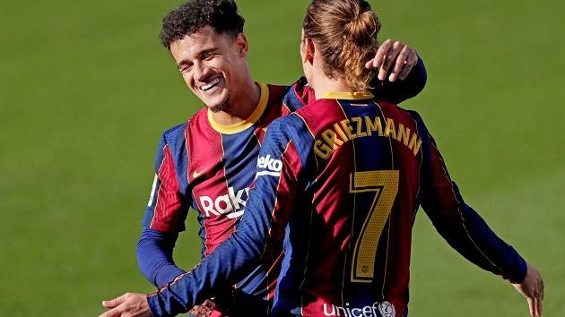 Vì 'cỗ máy hủy diệt', Barca 'tiễn' cả Coutinho và Griezmann lên đường - Bóng Đá