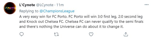 Chelsea đấu Porto, fan dự đoán thế nào? - Bóng Đá