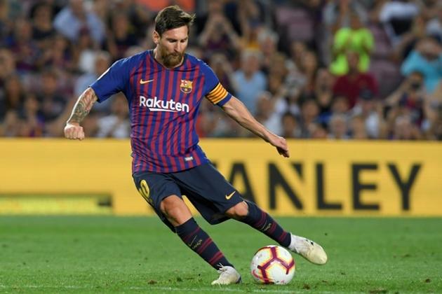 Valverde ca ngợi Messi