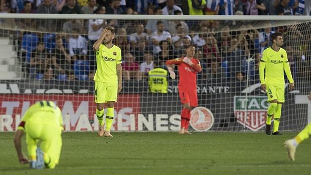 Barca có hàng phòng ngự tồi hơn 10 câu lạc bộ này tại Liga - Bóng Đá
