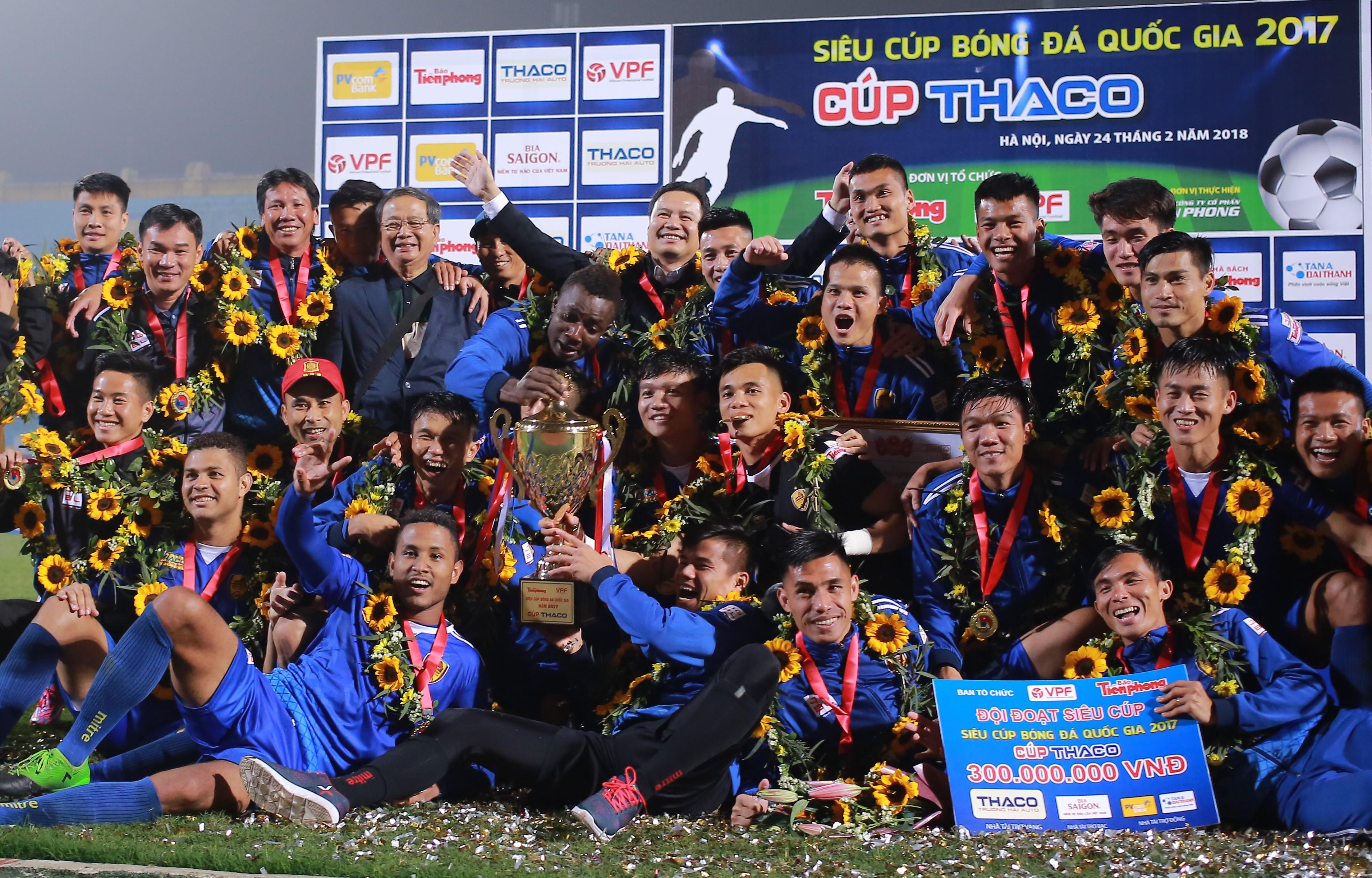 Lịch thi đấu V-League 2018: ĐKVĐ Quảng Nam tiếp Sài Gòn FC trên sân Tam Kỳ - Bóng Đá