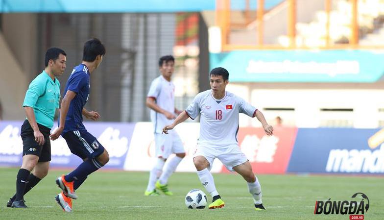 TRỰC TIẾP U23 Việt Nam 1-0 U23 Nhật Bản: Văn Quyết dứt điểm bóng đi chệch cột - Bóng Đá