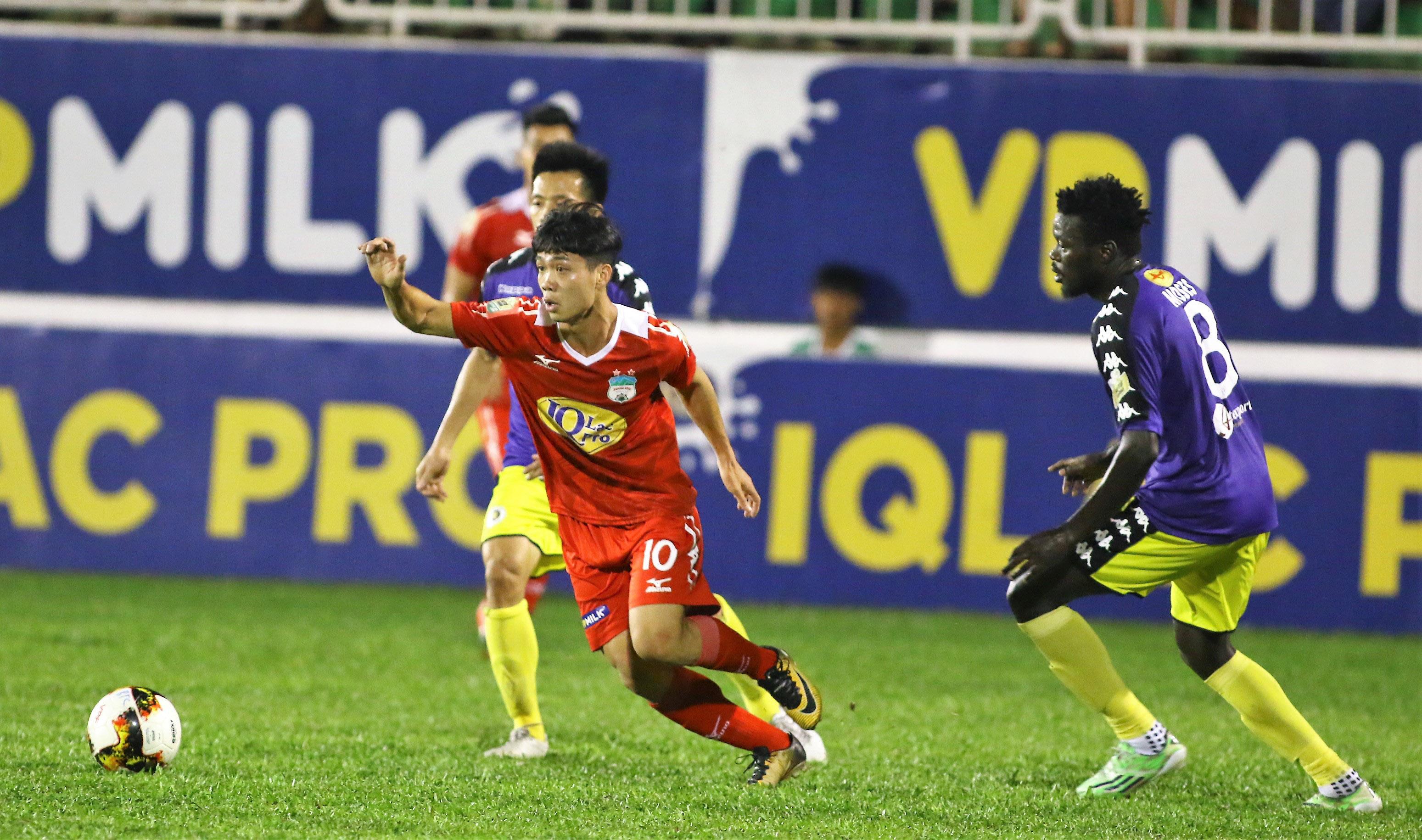 Kết quả vòng 23 V-League 2018: HAGL 3-5 Hà Nội