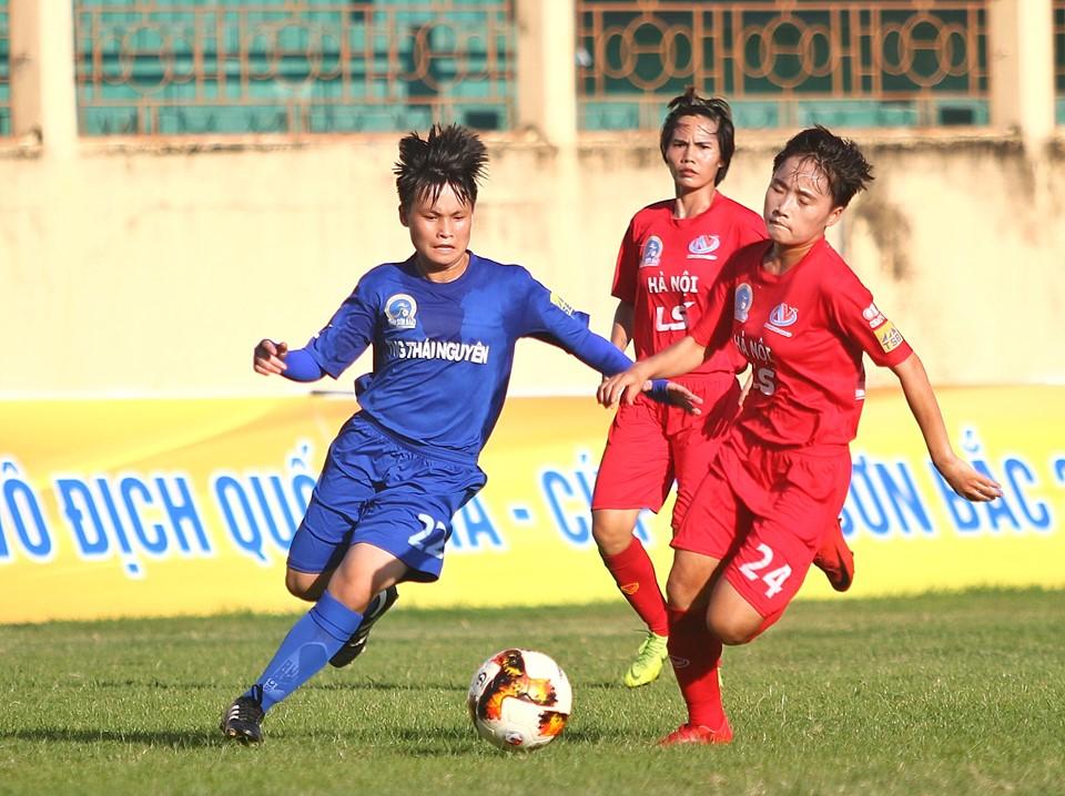 Giải VĐQG nữ 2019: Đại thắng TNG Thái Nguyên, Hà Nội gia nhập nhóm đầu - Bóng Đá