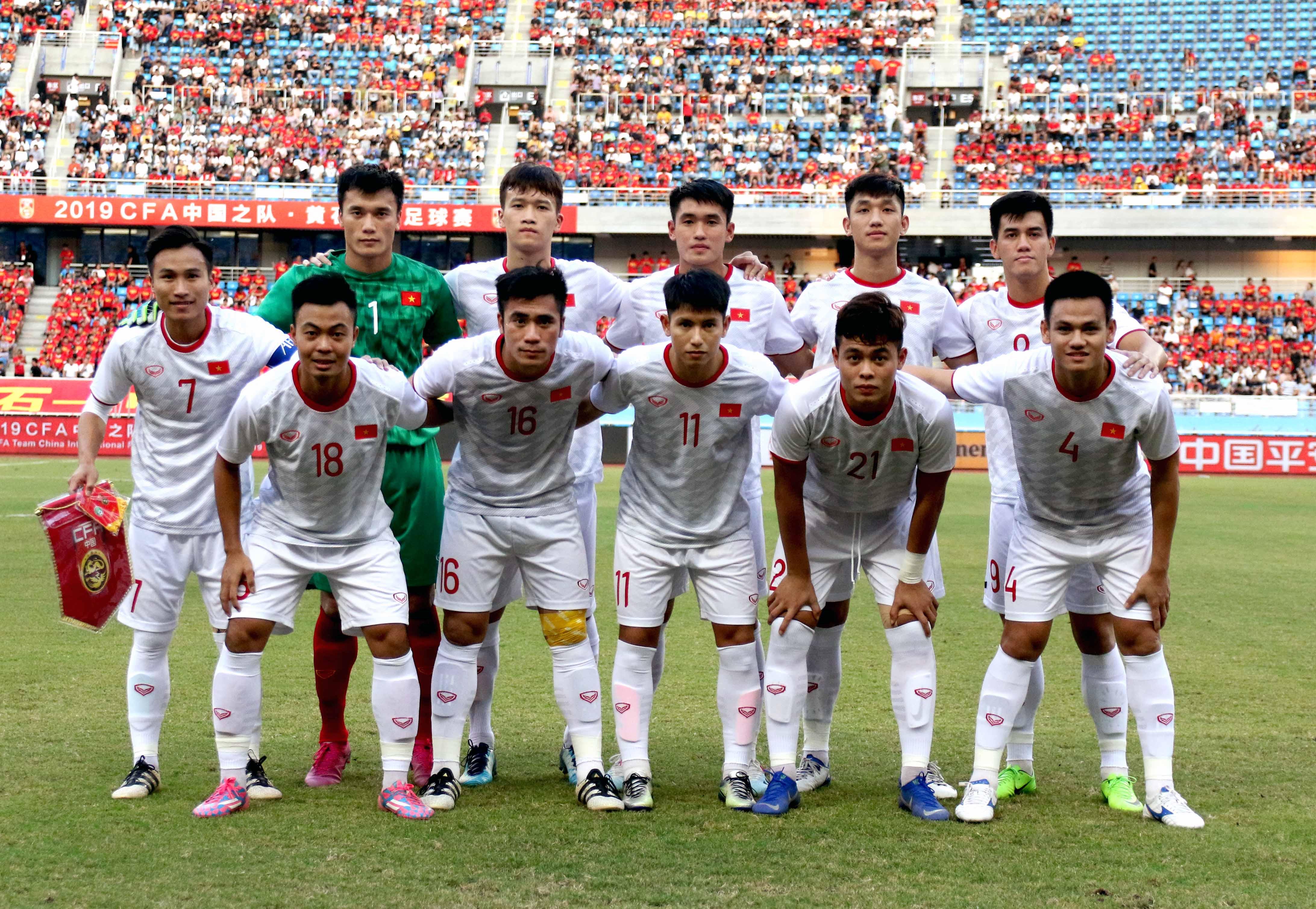 Chùm ảnh: Tiến Linh tỏa sáng U22 Việt Nam thắng thuyết phục Trung Quốc - Bóng Đá