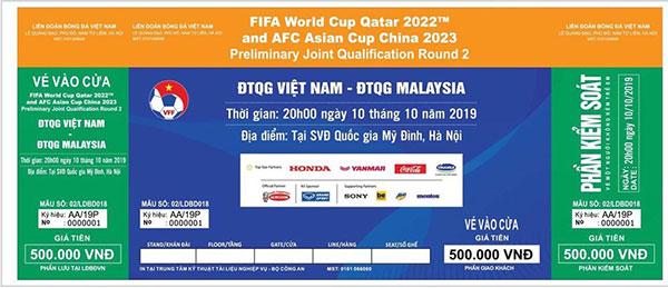 CHÍNH THỨC phát hành vé trận Việt Nam gặp Malaysia trên sân Mỹ Đình - Bóng Đá