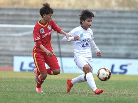 Giải VĐQG nữ 2019: Hà Nội thắng thuyết phục - Bóng Đá