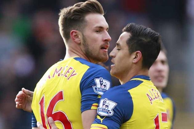 Arsenal tự tin với Ramsey, họ sẽ không đi vào 'vết xe đổ' của Alexis Sanchez - Bóng Đá