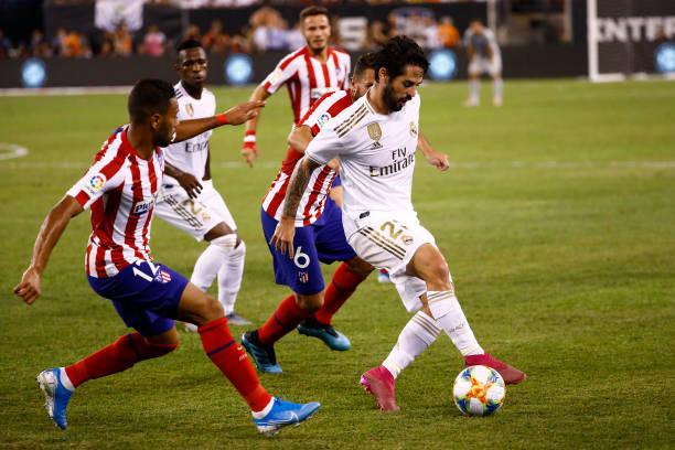 Costa lập poker, Atletico hủy diệt Real trong trận derby có tới 10 bàn thắng - Bóng Đá