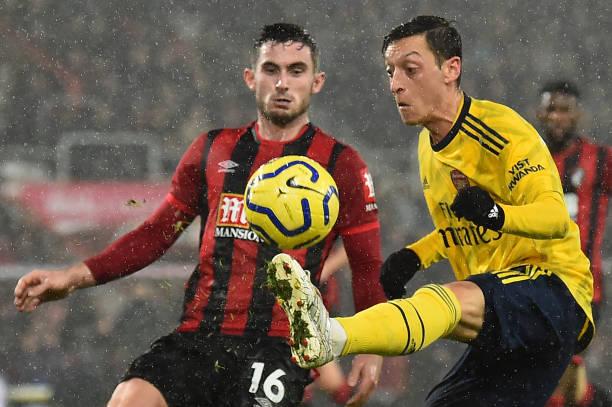 5 điểm nhấn Bournemouth 1-1 Arsenal: Ozil hồi sinh; Dấu ấn của Arteta - Bóng Đá