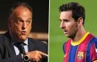 'La Liga đã sẵn sàng chia tay Lionel Messi'