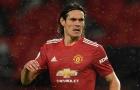 Thăng hoa, Cavani khiến bộ đôi thảm họa Man United phải xấu hổ