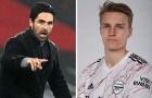 Arsenal quá cao tay, dùng 'chim mồi' giúp Odegaard hưởng lợi