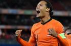 Van Gaal: 'Hà Lan tấn công rực lửa nhưng vẫn giữ sạch lưới'
