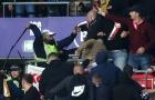Cảnh sát đụng độ với CĐV ở trận đấu giữa Anh và Hungary