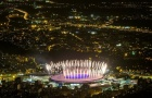 Pháo hoa rực sáng trước lễ khai mạc Olympics 2016