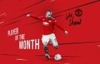 CHÍNH THỨC: Tỏa sáng rực rỡ, Luke Shaw được Man Utd vinh danh